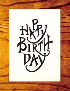 """Curioos.com   """"Happy Birthday"""" by Myoung Chung (Korea, Republic of) - http://pinterest.com/curioos"""