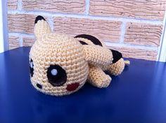 Baby Pikachu. #free #crochet #pattern