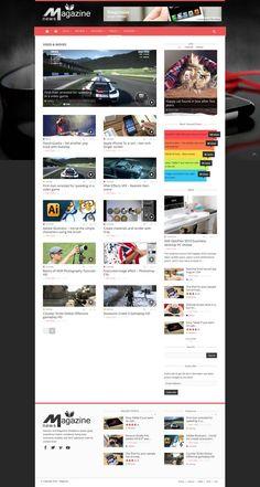 Magazinly - super modern Magazine Wordpress Theme - #wordpress #theme #template #responsive #design #webdesign #creative #magazine