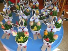 Boberkowy World - Frühling - Projets Diy Basket Crafts, Bunny Crafts, Easter Projects, Easter Crafts For Kids, Creative Crafts, Diy And Crafts, Spring Coloring Pages, Easter Art, Easter Activities