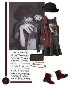 """""""Untitled #238"""" by patpatkay ❤ liked on Polyvore featuring Topshop, Monki, Deux Lux and rocker chic"""