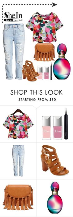 """Bez naslova #823"" by lifestyle-79 ❤ liked on Polyvore featuring Christian Dior, H&M, Bamboo, Sole Society and Missoni"