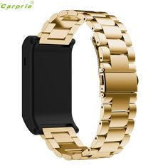 >> Click to Buy << Hot Sale CARPRIE 20cm Smartwatch Accessory Wristbands Sport Metal Stainless Steel Watch Band Strap For Garmin vivoactive HR #Affiliate