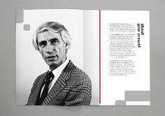 Wim Crouwel brochure on Behance