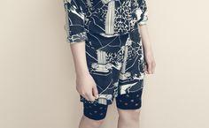 Stine Goya - Reverie shorts dot - black at Henny and My