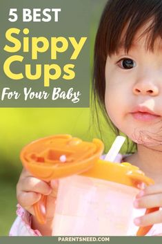 Top 5 Best Sippy Cups for Babies Good Parenting, Parenting Humor, Parenting Hacks, Breastfeeding Help, Sippy Cups, Newborn Essentials, Baby Necessities, Pregnancy Stages, Parent Resources