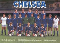 Very early '80s #Chelsea @ColinPates1 @TheGouldfather