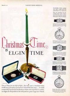 1927-ELGIN-WATCH-CANDLE-HOLLY-POCKET-WRIST-GEM-SILVER-AD-6653