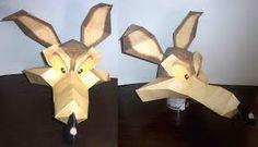 Resultado de imagen para papercraft de el coyote