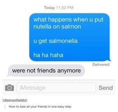 Funny pictures about When you put Nutella on salmon. Oh, and cool pics about When you put Nutella on salmon. Also, When you put Nutella on salmon. Funny Shit, Funny Jokes To Tell, Hilarious, Funny Stuff, Funny Things, Random Stuff, Weird Things, Corny Jokes, Dad Jokes
