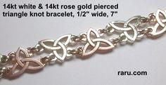 Celtic & Irish bracelets - gold, platinum, silver, celtic, Irish jewelry by deSignet
