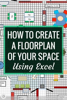 How to Create a Floorplan of Your Space Using Excel | In this tutorial, learn how to hack Microsoft Excel to create a floorplan of your space. This is an excellent tool for rethinking and redesigning learning spaces, including classrooms and libraries.