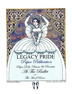 "Legacy Pride Volume II, Number II: At the Ballet or The Art of Dance: ""La Sylphide,"" by Donald Hendricks"