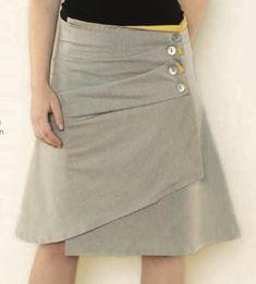 DIY Clothes DIY  Refashion   DIY - awesome skirt!