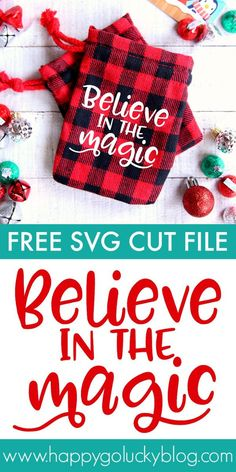 Make these adorable Believe in the Magic Gift Bags with your Cricut using the free SVG cut file. Then, just fill them with candy, gift cards, jewelry and other small gifts for a fun gift that everyone will love!