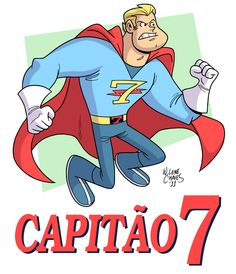 Captain Seven by BezerroBizarro.deviantart.com on @deviantART