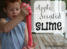 Apple-Scented Slime!