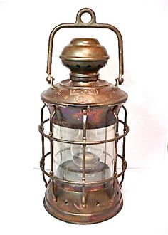 antique ships lantern