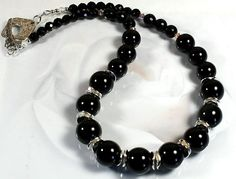 Black Onyx Ketting van Nella's Beauty's op DaWanda.com