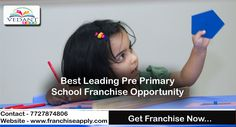 Best Leading Pre-Primary School Franchise Opportunity