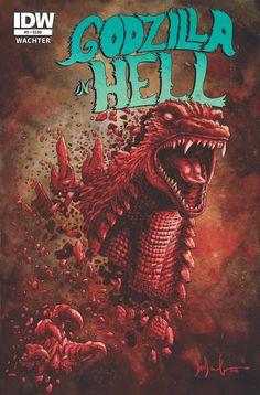 Godzilla In Hell (2015) Issue #5