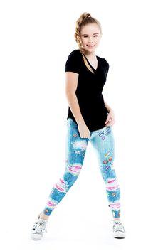 ZIPPY Girls Pantal/ón Estilo Leggings