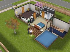 It's nice when Sims in love can go together!
