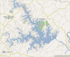 Smith Mountain Lake Interactive Map - Virginia