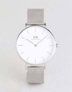 DANIEL WELLINGTON DW00100164 MESH WATCH IN SILVER - SILVER. #danielwellington #