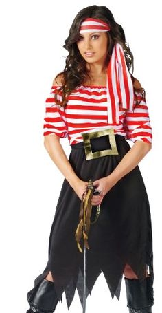Fun World Adult Womens Classic Pirate Halloween Costume Costumelicious,http://www.amazon.com/dp/B0087JEK9S/ref=cm_sw_r_pi_dp_ODprsb07SCG98ZSS