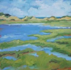 Great Island , Wellfleet - debbie miller,beach,blue green
