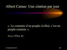 Albert Camus (1913-1960) n° 3