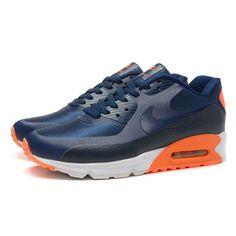 premium selection e9fc5 d3660 Nike Air Max 90 HYP PRM Dragon and Phoenix Men s Running Shoes Navy Blue