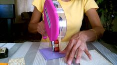 Triple time embossing