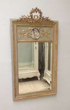 french trumeau mirror - Google Search