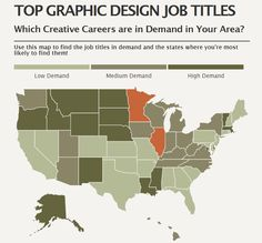 How many graphic design jobs are available in your state? #GraphicDesign