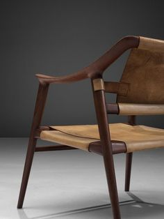 Rolf Rastad & Adolf Relling 'Bambi' Armchair In Good Condition For Sale In Waalwijk, NL Fine Furniture, Rustic Furniture, Luxury Furniture, Furniture Design, Antique Furniture, Furniture Logo, Cheap Furniture, Chair Design Wooden, Armchairs For Sale