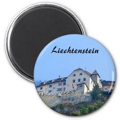 Shop Liechtenstein Castle in Vaduz Souvenir Magnet created by stdjura. Austria, Switzerland, Magnets, Castle, Photography, Souvenir, Photograph, Fotografie, Fotografia