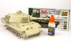 The Modelling News: Andy finishes Meng Models scale King Tiger Henschel Turret with AK shades. The Modelling News, Modeling, Detailed Paintings, Tiger Ii, Tiger Tank, Camo Colors, Model Tanks, Ww2 Tanks, Figure Model