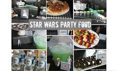 Clean & Scentsible: Star Wars Party Food - I really loved the Wookie Cookies. Truly creative #Geek Food.