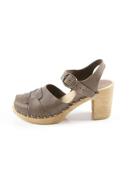 ::Strapped Clogs