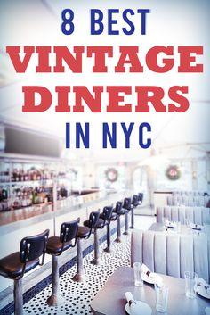 Top Vintage Diners in NYC