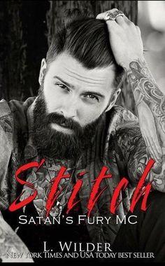 Cover Reveal: Stitch (Satan's Fury MC, #2) by L. Wilder - #BadassBikerAlert - Add it to your TBR! - iScream Books