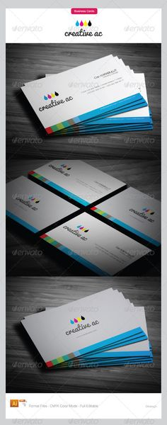 corporate business cards 121