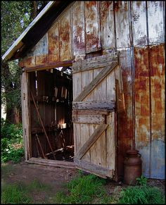 The Old Barn Door