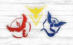 POKEMON GO DECALS.  #pokemon #pokemongo #pokemongodecal #teamvalor #teammystic #teaminstinct