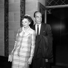 Judy Garland and Vincente Minnelli at Liza's wedding 1967