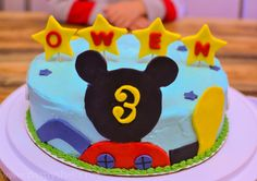 HOW TO Pastry Shells: Mickey Mouse Clubhouse Cake How-To