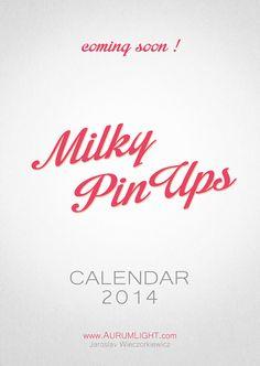 milky pin ups