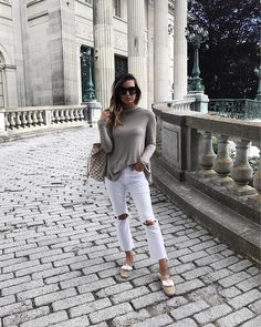 meganrunionmcrMansion hopping on Bellevue 💗Shop my look here: http://liketk.it/2rzWV #liketkit #travelwithlovely #newportri #newport #marblehouse #neutralischic #classicstyle #soludos #forallthingslovely